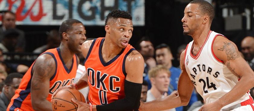 Toronto Raptors - Oklahoma City Thunder. Pronosticuri NBA