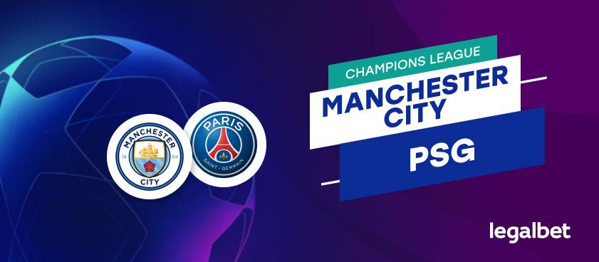 Apuestas Manchester City - PSG