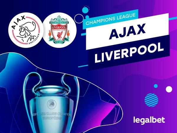 Rafa: Ajax-Liverpool: analiza, cote, ponturi pariuri.