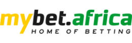 The logo of the bookmaker Mybet.Africa - legalbet.com.gh