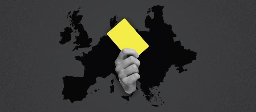 Самые жёсткие судьи Европы: когда ставка на ТБ жёлтых карточек оправданна