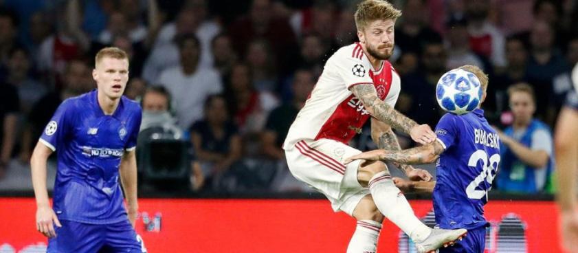 Dynamo Kiev - Ajax Amsterdam. Pontul lui Wallberg