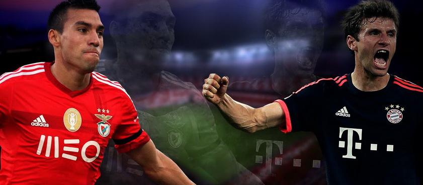 Benfica - Bayern. Ponturi Pariuri Liga Campionilor