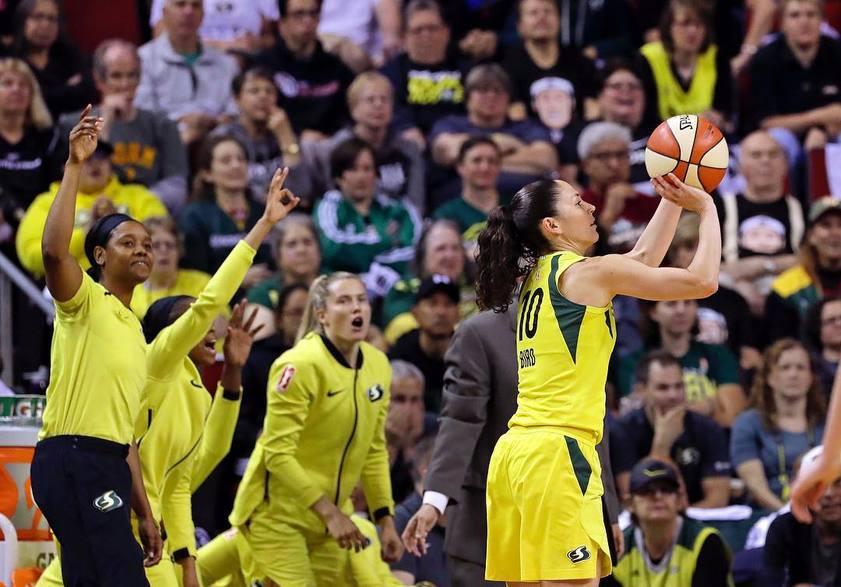 «Финикс Меркури» - «Сиэттл Шторм» прогноз на четвертый полуфинальный матч плей-офф WNBA