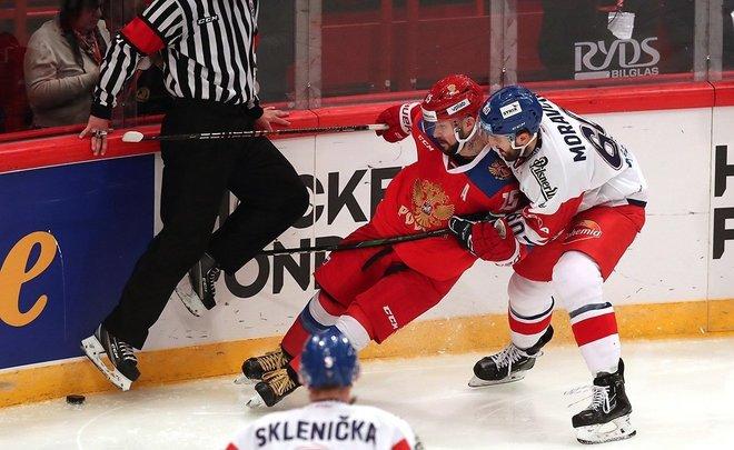 Сборная России заняла последнее место на Шведских хоккейных играх 2020