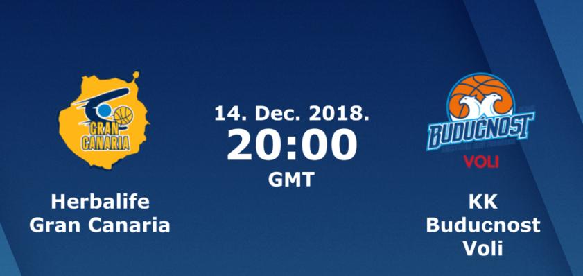 Баскетбол. Евролига. Гран Канария - Будучность (14.12.2018) / Анонс, прогноз