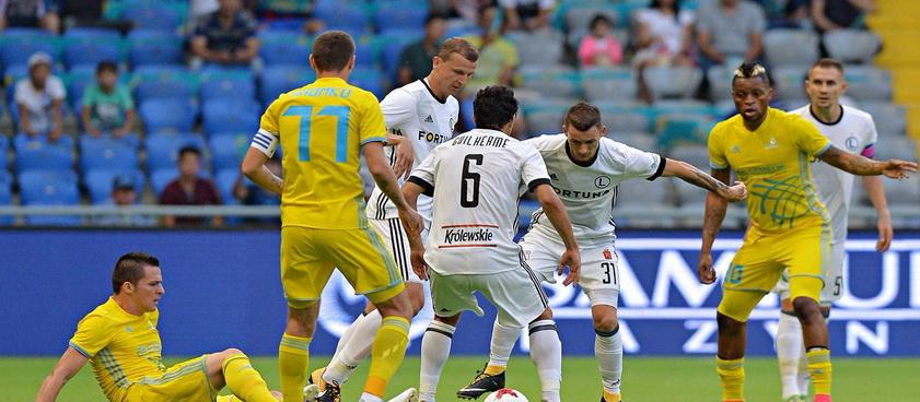 FC Astana - Ordabasy. Pontul lui Nica