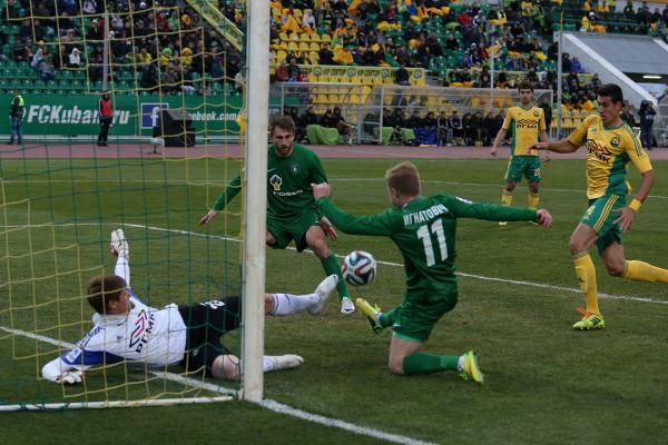 Кубань - Томь: в матче более двух голов забито не будет!