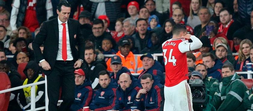 Джака снова на поле, но в Арсенале он теперь чужой. Его карьере в клубе конец?