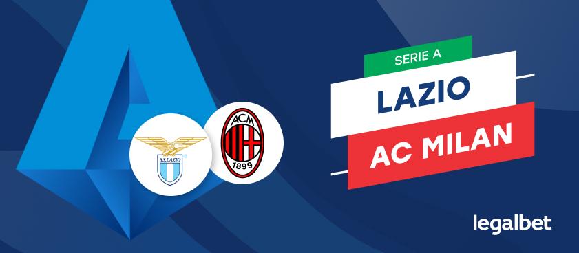 Apuestas y cuotas Lazio - AC Milan, Serie A 2020/21
