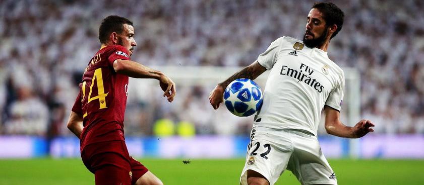 AS Roma - Real Madrid. Predictii sportive Liga Campionilor
