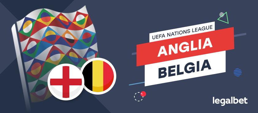 Anglia - Belgia: cote la pariuri, ponturi şi informaţii