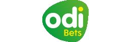 The logo of the bookmaker Odibets - legalbet.co.ke