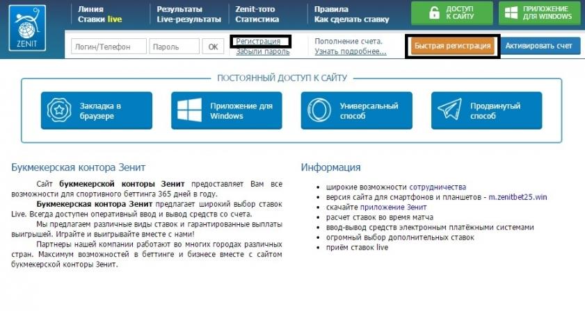 Букмекерская контора зенит в актау