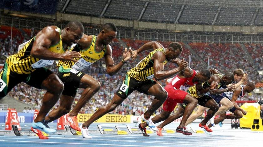 Олимпиада 2016. Легкая атлетика. Мужчины 100м