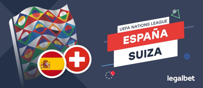 Apuestas y cuotas España - Suiza, UEFA Nations League 2020