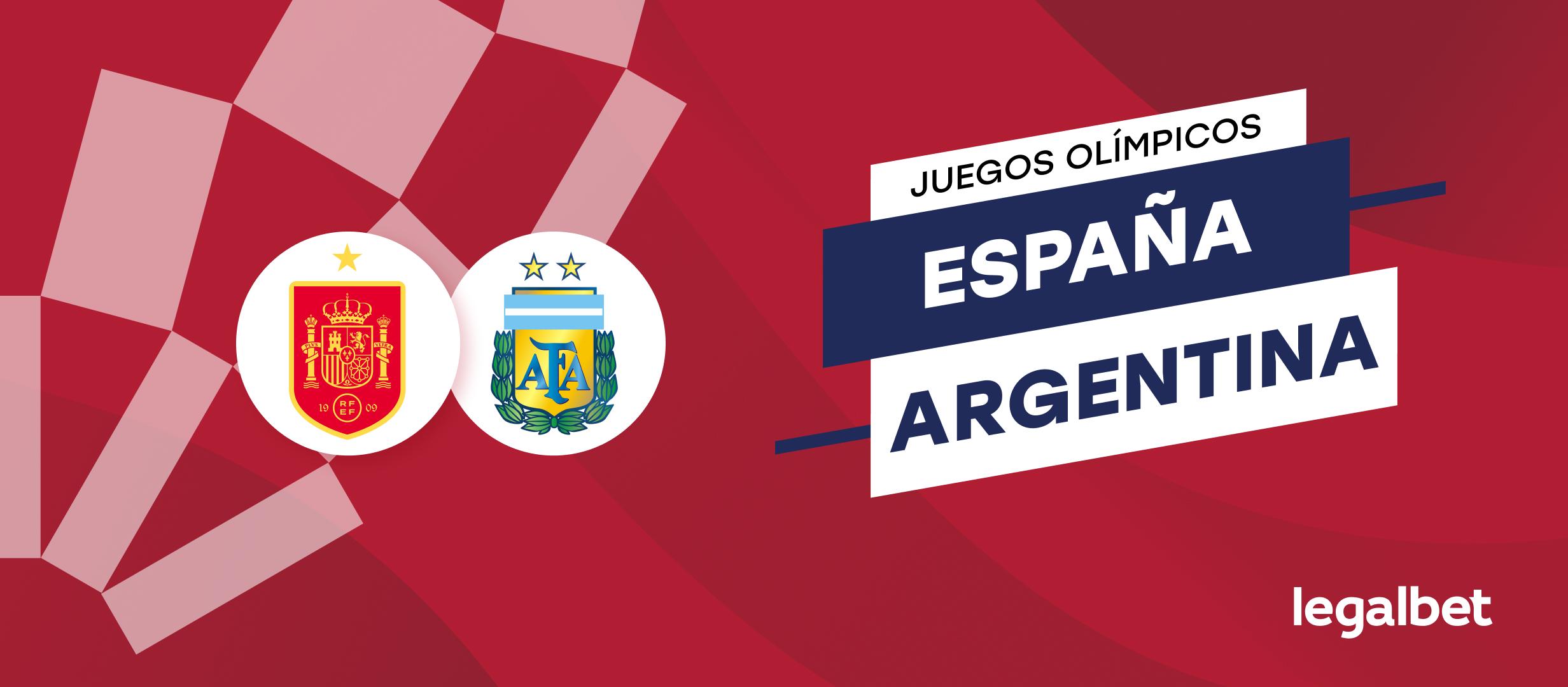 Apuestas y cuotas España - Argentina, Juegos Olímpicos 2020 (2021)