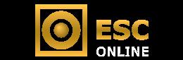 O logótipo da casa de apostas ESC - legalbet.pt