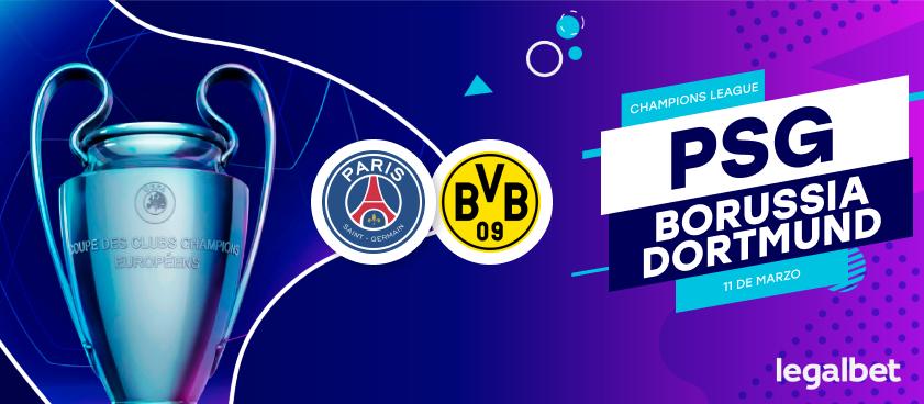 Previa, análisis y apuestas PSG - Borussia Dortmund, Champions League 2020