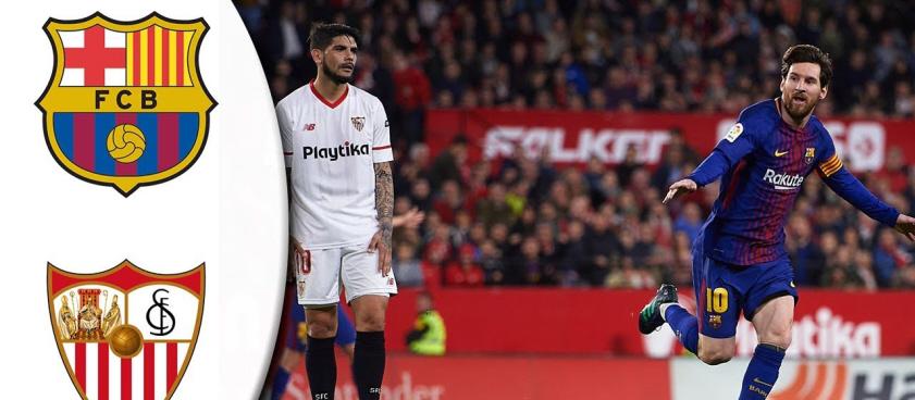 Pronóstico Supercopa de España 2018, Sevilla - FC Barcelona