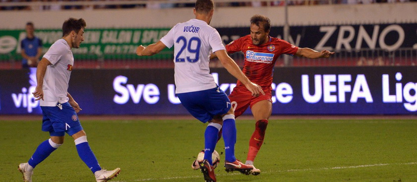 Fotbal Club FCSB - Hajduk Split. Pontul lui Karbacher