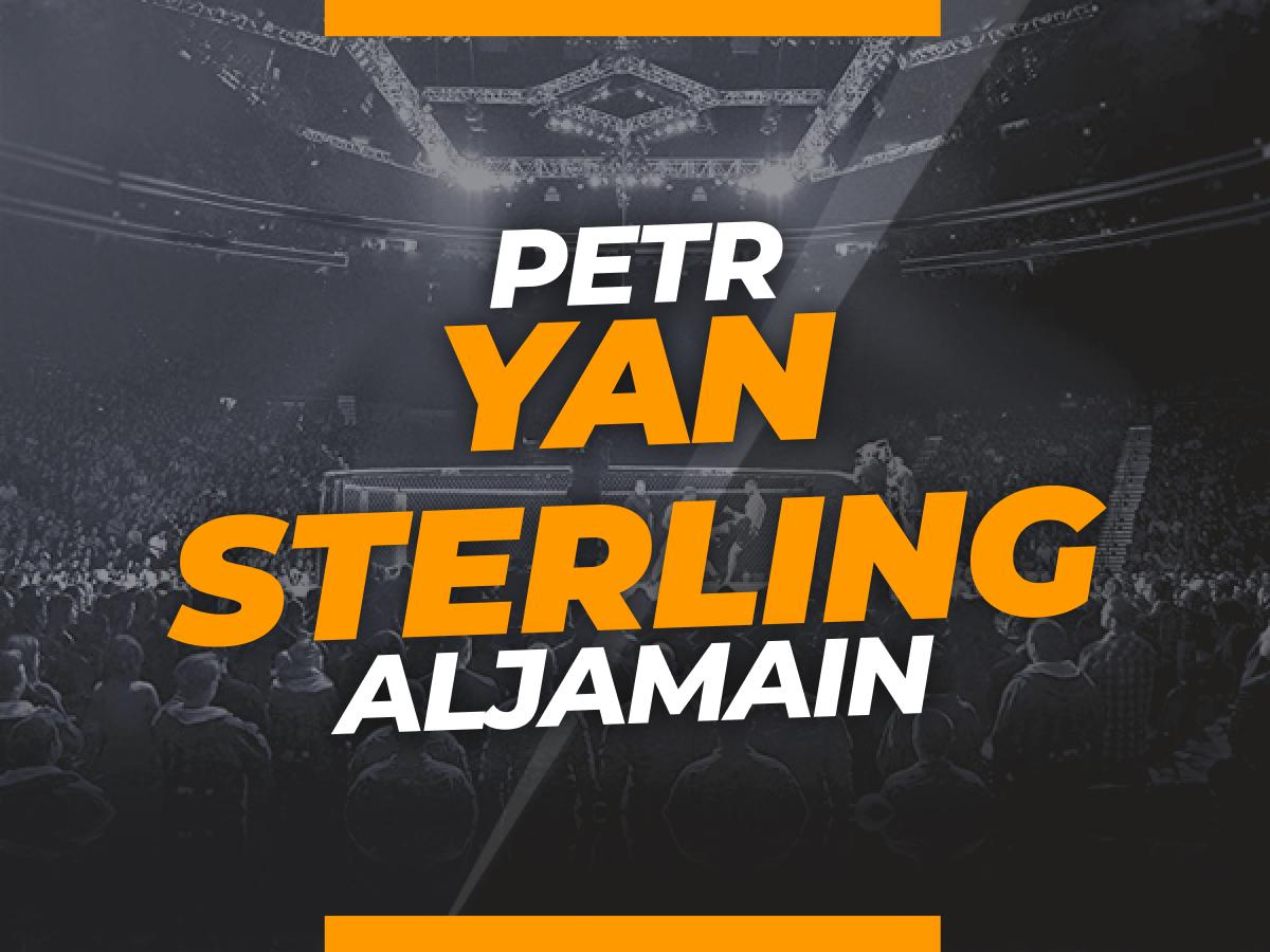 Legalbet.mx: Apuestas Yan vs Sterling : Cuotas y análisis del evento  UFC 267.