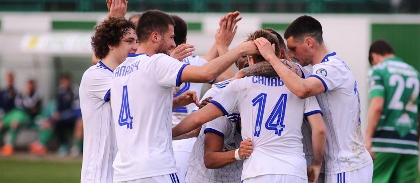 Dinamo Minsk - FC Vitebsk. Pontul lui Karbacher