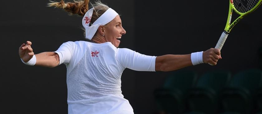 Прогноз на матч Светлана Кузнецова - Йоханна Ларссон: уверенная победа Светы?
