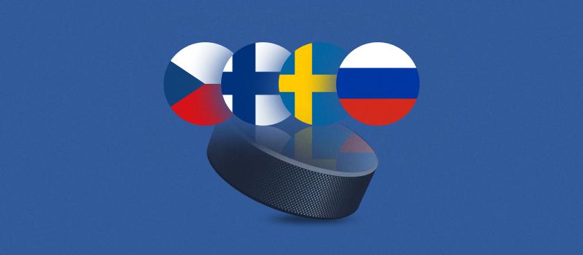 Чешские хоккейные игры Carlson: Россия – вторая по коэффициентам после хозяев