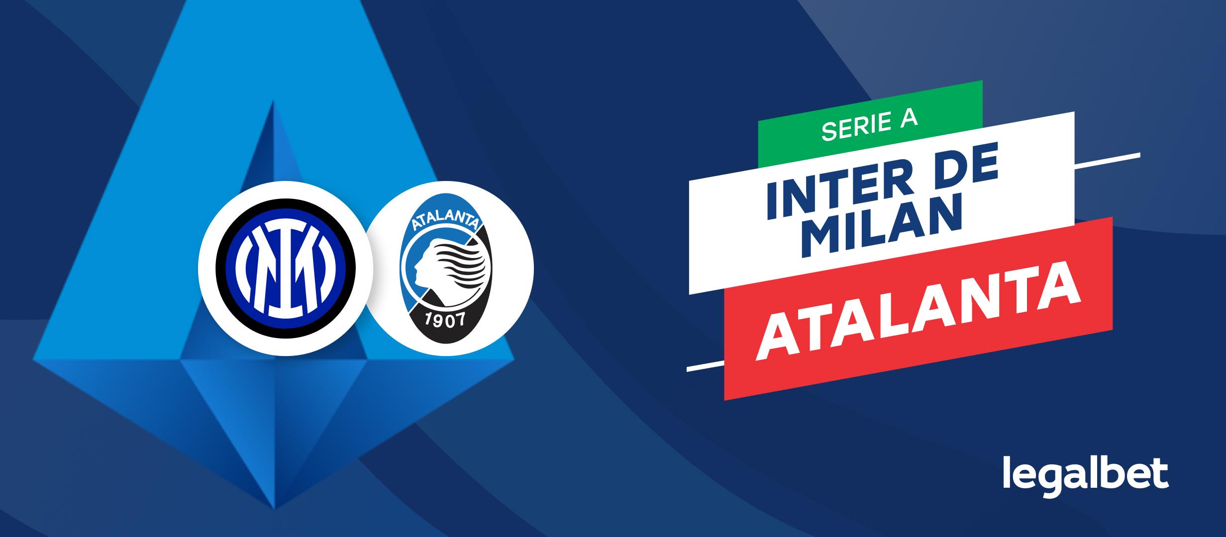 Apuestas y cuotas Inter de Milán - Atalanta, Serie A 2021/22