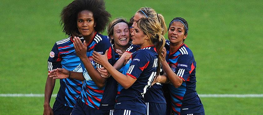 Женский футбол лион