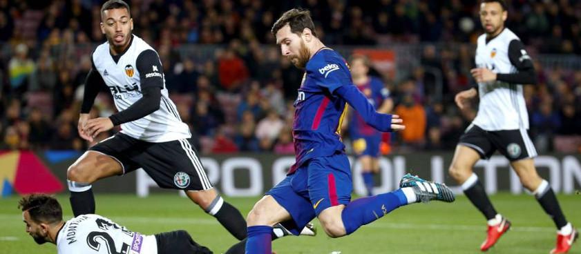 Pronóstico Barcelona - Valencia, La Liga 14.04.2018