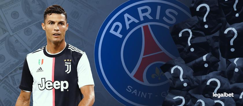 El PSG seduce a Cristiano Ronaldo, pero las casas de apuestas no confían en el fichaje