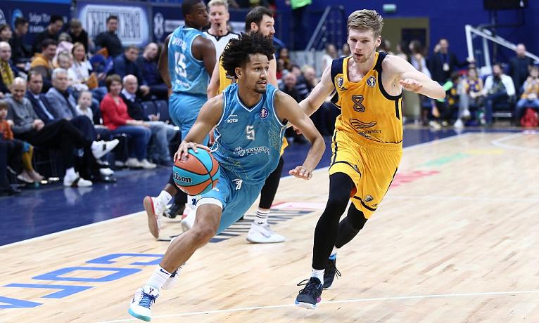 Баскетбол. Единая Лига ВТБ. Астана - Химки