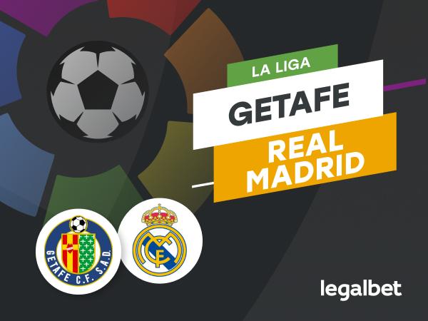 Antxon Pascual: Apuestas y cuotas Getafe - Real Madrid, La Liga 2020/21.