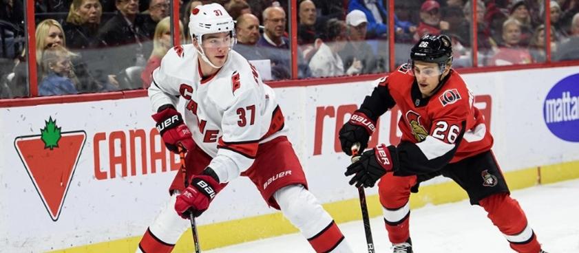 Прогноз на матч НХЛ «Каролина» — «Оттава»: важный реванш для возвращения уверенности