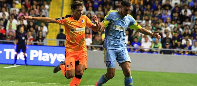 FC Astana - APOEL Nicosia. Pontul lui Karbacher