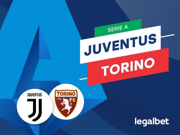 Mario Gago: Apuestas y cuotas Juventus -Torino, Serie A 2020/21.