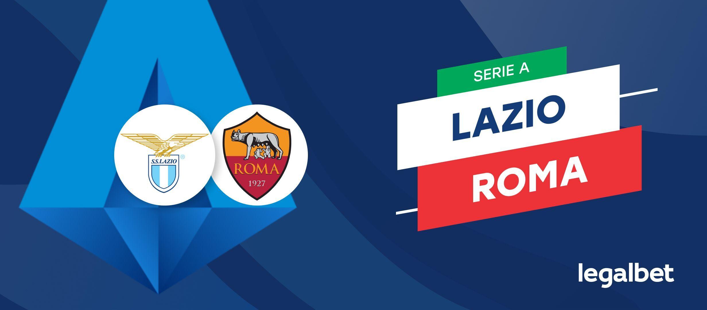 Lazio  - AS Roma, cote la pariuri, ponturi şi informaţii