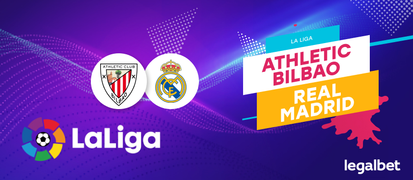 Previa, análisis y apuestas Athletic Bilbao - Real Madrid, La Liga 2020