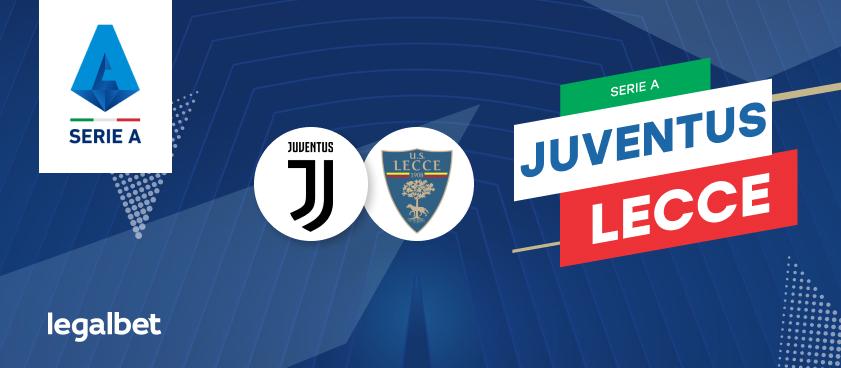 Previa, análisis y apuestas Juventus - Lecce, Serie A 2020