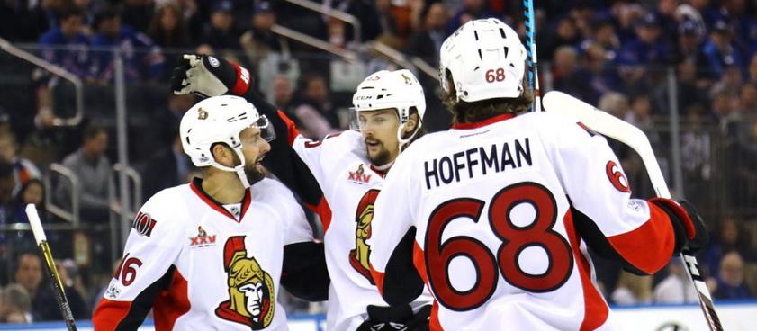 Ottawa Senators - New York Rangers: Ponturi hochei NHL