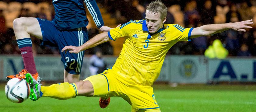 Cборная Украины U21 - сборная Македонии U21. Прогноз от гандикапера Vokal