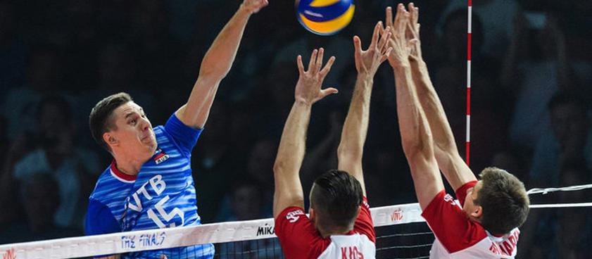 Россия выиграет чемпионат Европы по волейболу среди мужчин