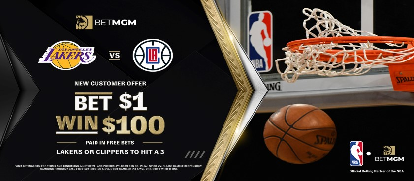 BetMGM Launches New NBA Promotion