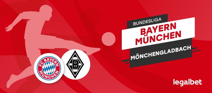 Bayern - Gladbach: analiza si pont Bundesliga