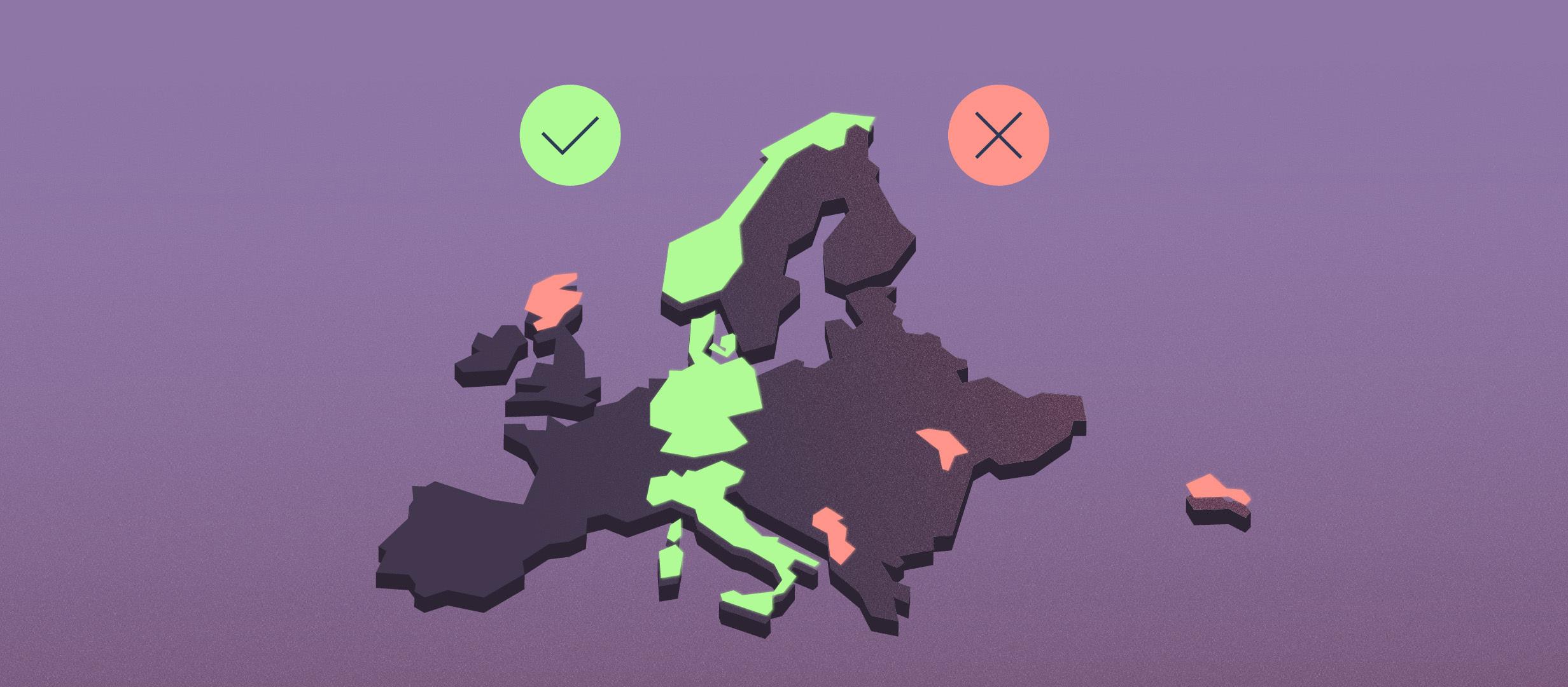 Где ставить на «Обе забьют — да»? Изучаем футбольную карту Европы