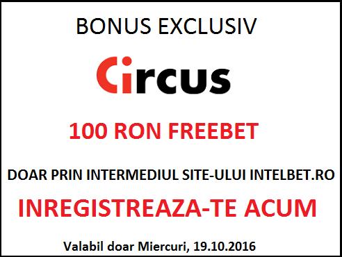 BONUS EXCLUSIV CIRCUS