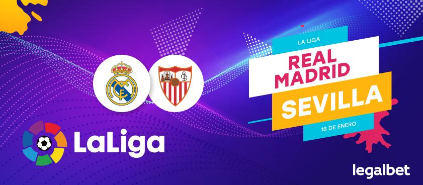 Previa, análisis y apuestas Real Madrid - Sevilla, La Liga 2020