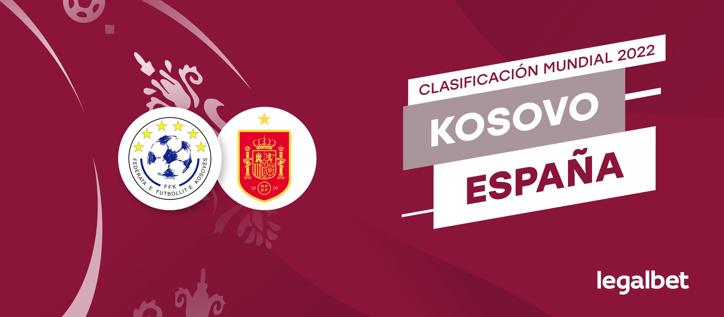 Apuestas y cuotas Kosovo - España, Clasificación Mundial 2022